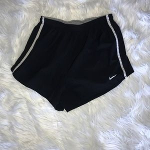 Black dri-fit Nike shorts